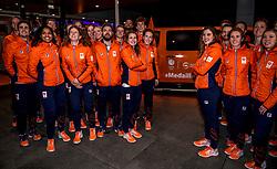 02-01-2018 NED: PloegpresentatieTeamNL, Arnhem<br /> Het Olympisch Team voor de medaille Taxi tijdens de teamoverdracht van Olympic en Paralympic TeamNL voor de Olympische Spelen van Pyeongchang