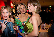 Katie Derham; Emily Mailtis; Andrea Catherwood;   The Costa Book of the Year Award at the Costa Book Awards. The Intercontinental Hotel, Hamilton Place. London. 27 January 2009 *** Local Caption *** -DO NOT ARCHIVE -Copyright Photograph by Dafydd Jones. 248 Clapham Rd. London SW9 0PZ. Tel 0207 820 0771. www.dafjones.com<br /> Katie Derham; Emily Mailtis; Andrea Catherwood;   The Costa Book of the Year Award at the Costa Book Awards. The Intercontinental Hotel, Hamilton Place. London. 27 January 2009