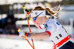 March 16, 2018 - Falun, SVERIGE - 180316 Silje ¯yre Slind, Norge tÅvlar i finalen i sprint under Svenska Skidspelen den 16 mars 2018 i Falun  (Credit Image: © Simon HastegRd/Bildbyran via ZUMA Press)