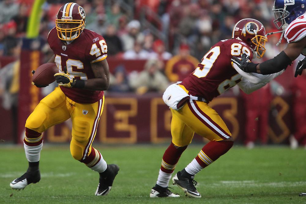 Landover, Md., Jan. 2, 2011 - Redskins vs. Giants -  (Photo by Jay Westcott/TBD)