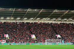 Carabao advertising - Mandatory by-line: Dougie Allward/JMP - 20/12/2017 - FOOTBALL - Ashton Gate Stadium - Bristol, England - Bristol City v Manchester United - Carabao Cup Quarter Final