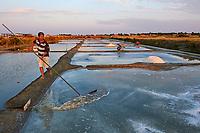 France, Vendée (85), Noirmoutier, les marais salants, Patrice Rigoult  // France, Vendée, Noirmoutier, Salt marshes, Patrice Rigoult