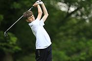 Mark Gazi (Tralee) during the Connacht U14 Boys Amateur Open, Ballinasloe Golf Club, Ballinasloe, Galway,  Ireland. 10/07/2019<br /> Picture: Golffile   Fran Caffrey<br /> <br /> <br /> All photo usage must carry mandatory copyright credit (© Golffile   Fran Caffrey)