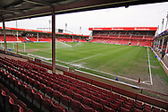 A general view of the stadium before the EFL Sky Bet League 1 match between Walsall and Barnsley at the Banks's Stadium, Walsall, England on 23 March 2019.