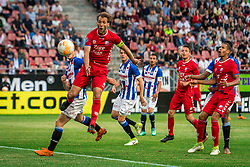 12-05-2018 NED: FC Utrecht - Heerenveen, Utrecht<br /> FC Utrecht win second match play off with 2-1 against Heerenveen and goes to the final play off / Willem Janssen #14 of FC Utrecht