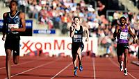 Friidrett ,  11. juni 2015 , Diamond League , Bislett Games , Oslo<br />  Atheltics<br /> 400 m<br /> Karsten Warholm , NOR<br /> Delano Williams , GBR