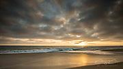 Sunset in Laguna beach, California, USA
