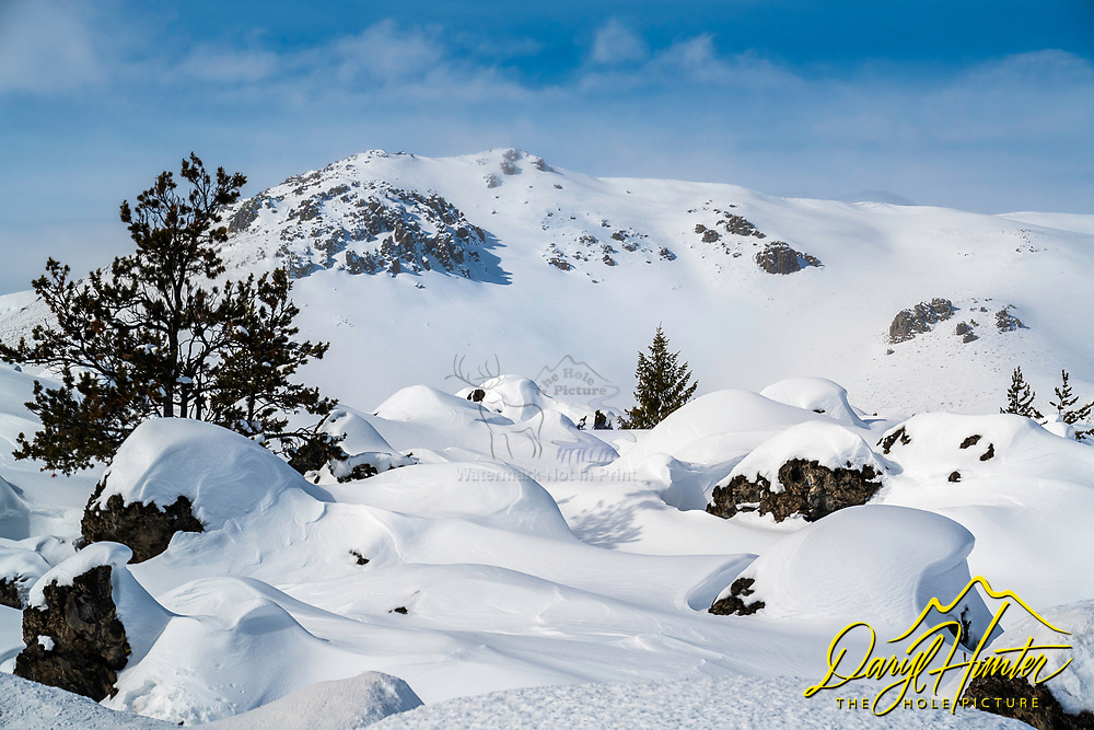 Craters of the Moon in Winter