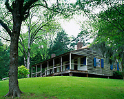 Mount Locust stand, one of the earliest and best known inns on the Natchez Trace, Natchez Trace Parkway, Mississippi.