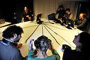 Ghent, Belgium, Mar 23, 2009, Masterclass with Kevin Major, ©Christophe Vander Eecken