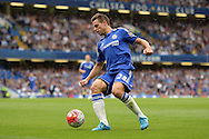Cesar Azpilicueta of Chelsea in action. Barclays Premier League, Chelsea v Crystal Palace at Stamford Bridge in London on Saturday 29th August 2015.<br /> pic by John Patrick Fletcher, Andrew Orchard sports photography.