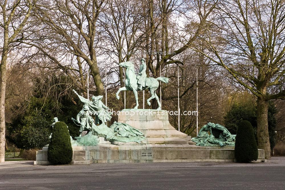 Belgium, Antwerp, World War memorial in stadspark
