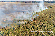 63863-02918 Prescribed Burn by IDNR Prairie Ridge State Natural Area Marion Co. IL
