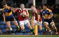11 June 2013; Jonathan Davies, British & Irish Lions, escapes the tackle of Lewie Catt, Combined Country. British & Irish Lions Tour 2013, Combined Country v British & Irish Lions, Hunter Stadium, Newcastle, NSW, Australia. Picture credit: Stephen McCarthy / SPORTSFILE