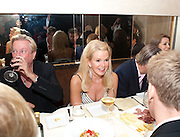 BLAINE TRUMP, Aby Rosen & Samantha Boardman Dinner at Solea,Collins ave,  Miami Beach. 2 December 2010. -DO NOT ARCHIVE-© Copyright Photograph by Dafydd Jones. 248 Clapham Rd. London SW9 0PZ. Tel 0207 820 0771. www.dafjones.com.