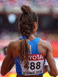 24-08-2015 CHN: IAAF World Championships Athletics day 3, Beijing<br /> Mariabenedicta Chigbolu ITA, 400 m<br /> Photo by Ronald Hoogendoorn / Sportida
