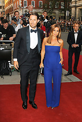 Jamie Redknapp; Louise Redknapp, GQ Men of the Year Awards, Royal Opera House, London UK, 03 September 2013, (Photo by Richard Goldschmidt)