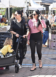 Nikki Bella and Brie Bella go to the farmers market in Calabasas. 15 Feb 2020 Pictured: Nikki Bella and Brie Bella go to farmers market. Photo credit: ErnestoV93 / MEGA TheMegaAgency.com +1 888 505 6342