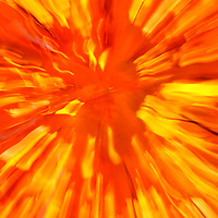"""""""Light Burst""""<br /> <br /> A brilliant burst of bright orange and yellow light come through in this vibrant abstract image!!<br /> <br /> Nature Abstracts by Rachel Cohen"""