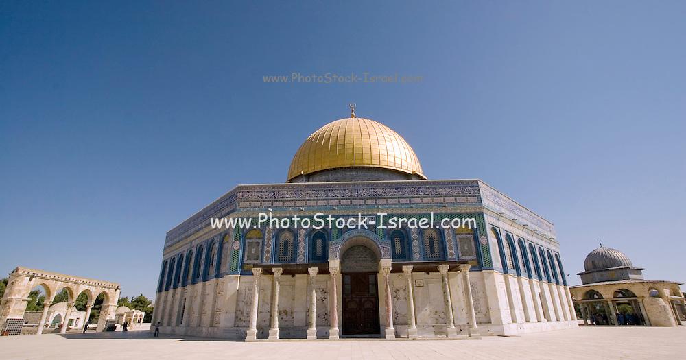 Israel, Jerusalem, Old City, Dome of the Rock