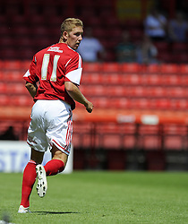 Bristol City's Scott Wagstaff - Photo mandatory by-line: Joe Meredith/JMP - Tel: Mobile: 07966 386802 13/07/2013 - SPORT - FOOTBALL - Bristol -  Bristol City v Glasgow Rangers - Pre Season Friendly - Bristol - Ashton Gate Stadium