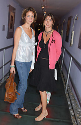 Left CHLOE LONSDALE and MISTY TWIGG at a polo players party hosted by AJM International Publishing and Cartier celebrating the 21st anniversary of the Cartier International Polo held at The Collection, London SW3 on 19th July 2005.<br /><br />NON EXCLUSIVE - WORLD RIGHTS