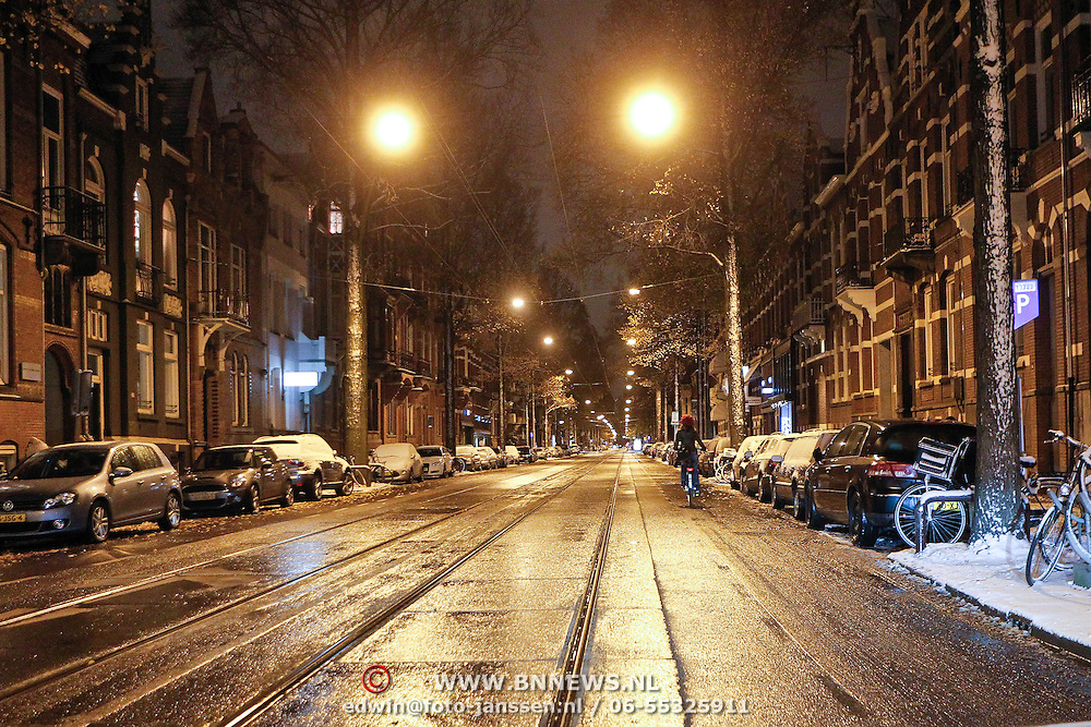 NLD/Amsterdam/20101129 - Nachtelijk straten gemeente Amsterdam,