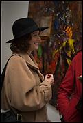 EMMA JEFFERSON, Jonas Burgert, Stuck Hirn Blind, PV. Blain Southern. Hanover Sq. London. 13 October 2014.