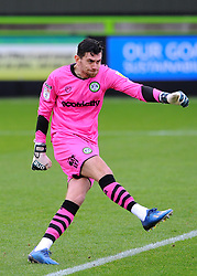 Luke McGee of Forest Green Rovers- Mandatory by-line: Nizaam Jones/JMP - 14/11/2020 - FOOTBALL - innocent New Lawn Stadium - Nailsworth, England - Forest Green Rovers v Mansfield Town - Sky Bet League Two