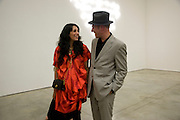 SERENA REES; PAUL SIMONON, Tracey Emin opening. White Cube. Mason's Yard. London. 28 May 2009.