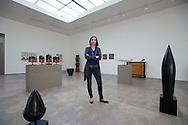 Barranco. Art galleries. Lucia de la Puente portrayed in his gallery
