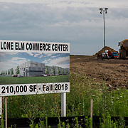 Lone Elm Commerce Center property, Olathe, Kansas, US.
