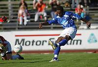 Paulo Dos Santos, Alesund. <br /> <br /> Fotball: Kongsvinger - Aalesund 2-2 (5-2 e. straffer). NM 2004 herrer, 3. runde. 8. juni 2004. (Foto: Peter Tubaas/Digitalsport.
