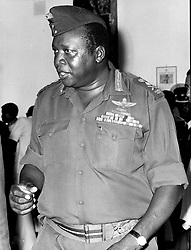 Apr 01, 1983 - London, England, United Kingdom - Idi Amin Dada Oumee (c.1925 Ð 16 August 2003), commonly known as Idi Amin, was a Ugandan military dictator and the president of Uganda from 1971 to 1979. Amin joined the British colonial regiment, the King's African Rifles, in 1946, and advanced to the rank of Major General and Commander of the Ugandan Army. He took power in a military coup in January 1971, (Credit Image: KEYSTONE Pictures USA/ZUMAPRESS.com)