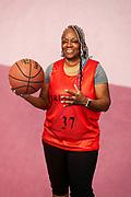 BABY BOOMER WOMAN BASKETBALL PLAYER