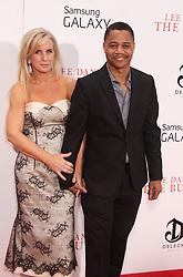 Aug. 5, 2013 - New York, New York, U.S. - Actor CUBA GOODING JR. and his wife SARA KAPFER attend the New York premiere of 'Lee Daniels' The Butler' held at the Ziegfeld Theatre. (Credit Image: © Nancy Kaszerman/ZUMAPRESS.com)