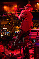 Matt Hubard performing with 7 Walkers in Concert in The Wolfs Den at Mohegan Sun Casino on December 9, 2010