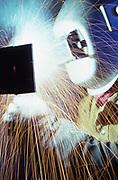 Welding, manufacturing shop, Harrisburg, Pennsylvania