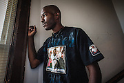 MILWAUKEE, WI -- 8/12/15 -- Nate Hamilton, 33, became a social justice activist after his brother Dontre Hamilton, who suffered from mental illness, was shot by a Milwaukee Police Officer. He was unarmed when approached by Ofc. Christopher Manney, although he did take the officer's nightstick after being struck. No charges were filed against the officer after an 18-month investigation by DA John Chisholm.…by André Chung #_AC26579