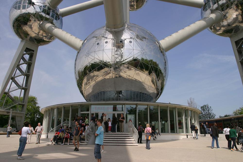 The Atomium museum, Brussels Belgium