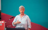 DEU, Deutschland, Germany, Berlin, 19.06.2021: Bundesparteitag der Partei DIE LINKE in den Reinbeckhallen. Die Berliner Linken-Landesvorsitzende Katina Schubert.
