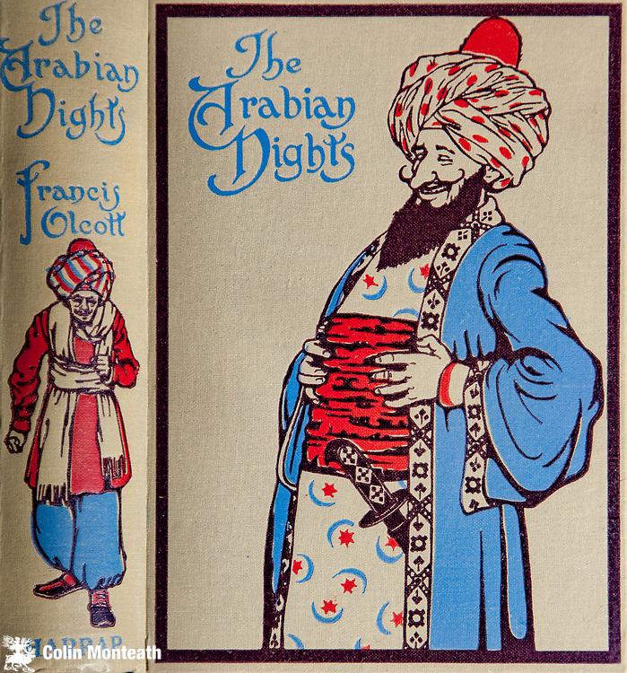 The Arabian Nights,  Selected by Francis Olcott, Illustrations Monro Orr., George Harrap & Co, London, 1913.