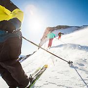 Ski Racers at Squaw.