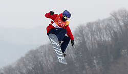 Great Britain's Billy Morgan during qualification for Men's Snowboard Slopestyle the PyeongChang 2018 Winter Olympic Games in South Korea.