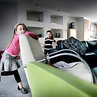 Nederland,Fijnaart ,17 oktober 2008..De kinderen van de familie.Quist..Foto:Jean-Pierre Jans/Volkskrant.N.B. NIET VOOR PUBLICATIE IN HET ALGEMEEN DAGBLAD,TROUW,NRC HANDELSBLAD, DE TELEGRAAF EN HET PAROOL.