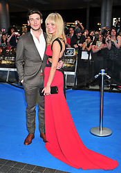 "© licensed to London News Pictures. London, UK  12/05/11Sam Claflin and Laura Haddock  attends the UK premiere of Pirates of the Carribean 4 ""on Stranger Tides"" at Londons Westfield . Please see special instructions for usage rates. Photo credit should read AlanRoxborough/LNP"