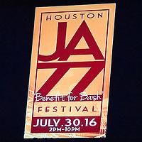 2016 Houston Jazz Festival