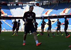 07.09.2014, St. Jakob Park, Basel, SUI, UEFA Euro Qualifikation, Schweiz vs England, Training, Gruppe E, im Bild Feature, Wayne Rooney (ENG) trainiert im St.Jakob Park // during a Trainingsession in front of the UEFA EURO qualification group E match Switzerland and England at the St. Jakob Park in Basel, Switzerland on 2014/09/07. EXPA Pictures © 2014, PhotoCredit: EXPA/ Freshfocus/ Daniela Frutiger<br /> <br /> *****ATTENTION - for AUT, SLO, CRO, SRB, BIH, MAZ only*****