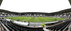 The iPro Stadium, home of Derby County - Mandatory byline: Robbie Stephenson/JMP - 07966 386802 - 03/10/2015 - FOOTBALL - iPro Stadium - Derby, England - Derby County v Brentford - Sky Bet Championship