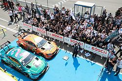 May 5, 2018 - Germany - Motorsports: DTM race Hockenheimring, Saison 2018 - 1. Event Hockenheimring, GER, Lucas Auer ( AUT, Mercedes HWA AG ), Gary Paffett ( GBR, Mercedes HWA AG  (Credit Image: © Hoch Zwei via ZUMA Wire)